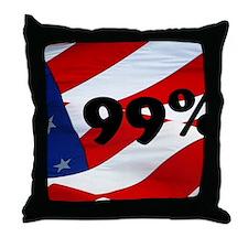 99% Throw Pillow