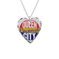 Cincinnati Vintage Label B Necklace