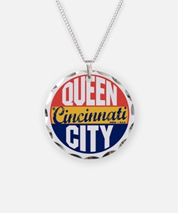 Cincinnati Vintage Label B Necklace