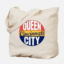 Cincinnati Vintage Label B Tote Bag