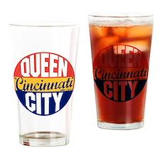 Cincinnati Vintage Label B Drinking Glass