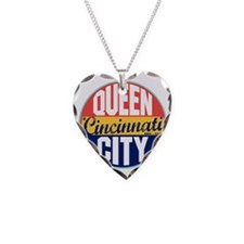 Cincinnati Vintage Label W Necklace