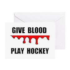 HOCKEY Greeting Cards (Pk of 10)