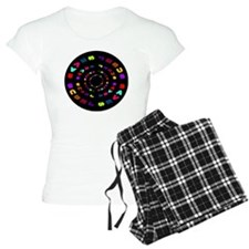 Jesus Saves Black Circle Pajamas