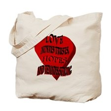 Love Always Heart Tote Bag