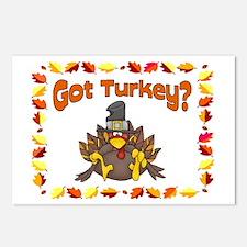 Got Turkey? Postcards (Package of 8)