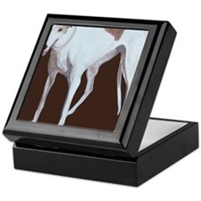 SQ Greyhound Keepsake Box