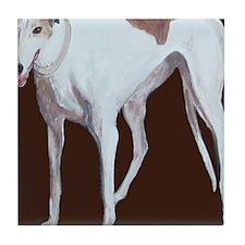 SQ Greyhound Tile Coaster