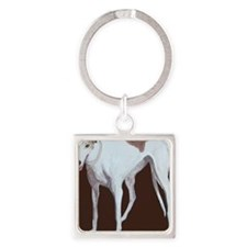 SQ Greyhound Square Keychain