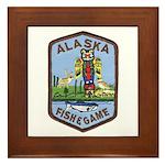 Alaska Game Warden Framed Tile