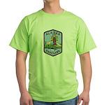 Alaska Game Warden Green T-Shirt