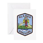 Alaska Game Warden Greeting Cards (Pk of 10)