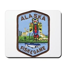 Alaska Game Warden Mousepad