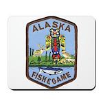 Alaska Game Warden Mousepad