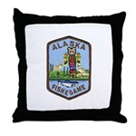 Alaska Game Warden Throw Pillow