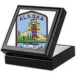 Alaska Game Warden Keepsake Box