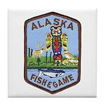 Alaska Game Warden Tile Coaster