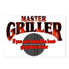 Master Griller Postcards (Package of 8)