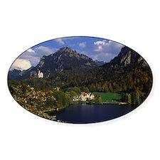 Bavarian Alps and Neuschwanstein Ca Decal