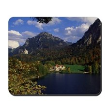 Bavarian Alps and Neuschwanstein Castle  Mousepad