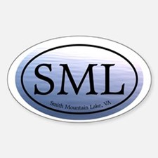 SML.ovalother.bluewater Sticker (Oval)