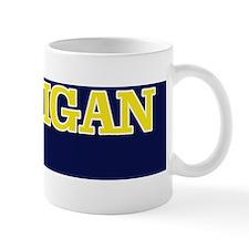 Michigan Bumper Sticker 1 Mug