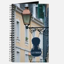 Mulhouse: Detail of Music Store Sign: Deta Journal