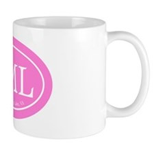 SML.ovalsticker.pink Mug