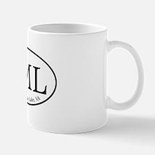 SML.ovalsticker.white Mug