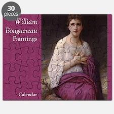 Bouguereau Paintings Wall Calendar cover Lu Puzzle