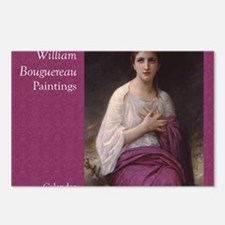 Bouguereau Paintings Wall Postcards (Package of 8)