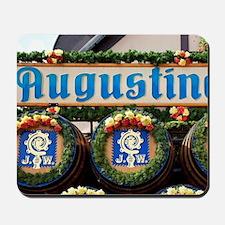 Munich. Decorated barrels of beer at Okt Mousepad
