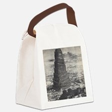 Towel of Babel Canvas Lunch Bag