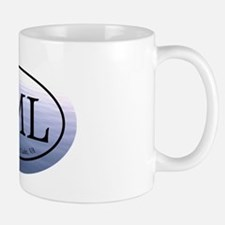 SML.ovalsticker.bluewater Mug