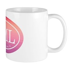 SML.ovalsticker.pink water.white Mug