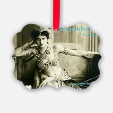 Vintage Bellydance Calendar cover Ornament