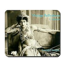 Vintage Bellydance Calendar cover Lunagi Mousepad