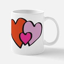HappyHeartsVecOutlineSquareHI Mug