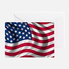 usflag Greeting Card