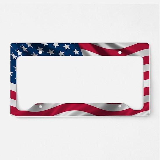 usflag License Plate Holder