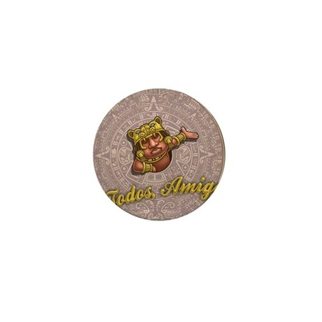 mayan-cal-toon2-TIL Mini Button