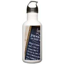 Menu with tapas. Colli Water Bottle
