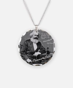 karl_marx-1b Necklace Circle Charm