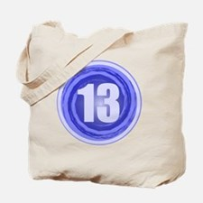 B-DAY BLUE 13TH Tote Bag