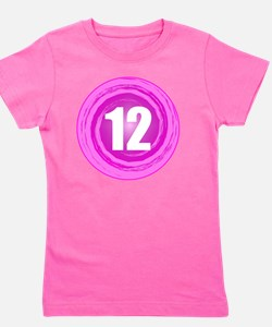 B-DAY-PINK 12TH Girl's Tee