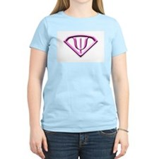 Superhero Psychologist Pink T-Shirt