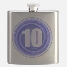B-DAY BLUE 10TH Flask