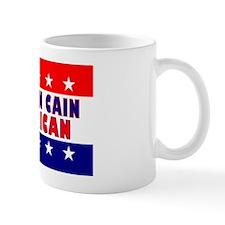 RectangleStickerHermanCainAmerican Mug