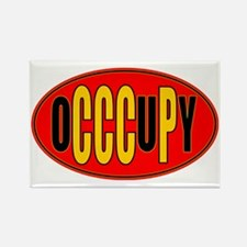 oCCCuPy logo Rectangle Magnet
