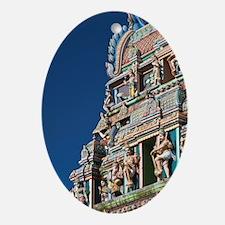 Hindu temple de Petit-Bazaarndre, Hi Oval Ornament
